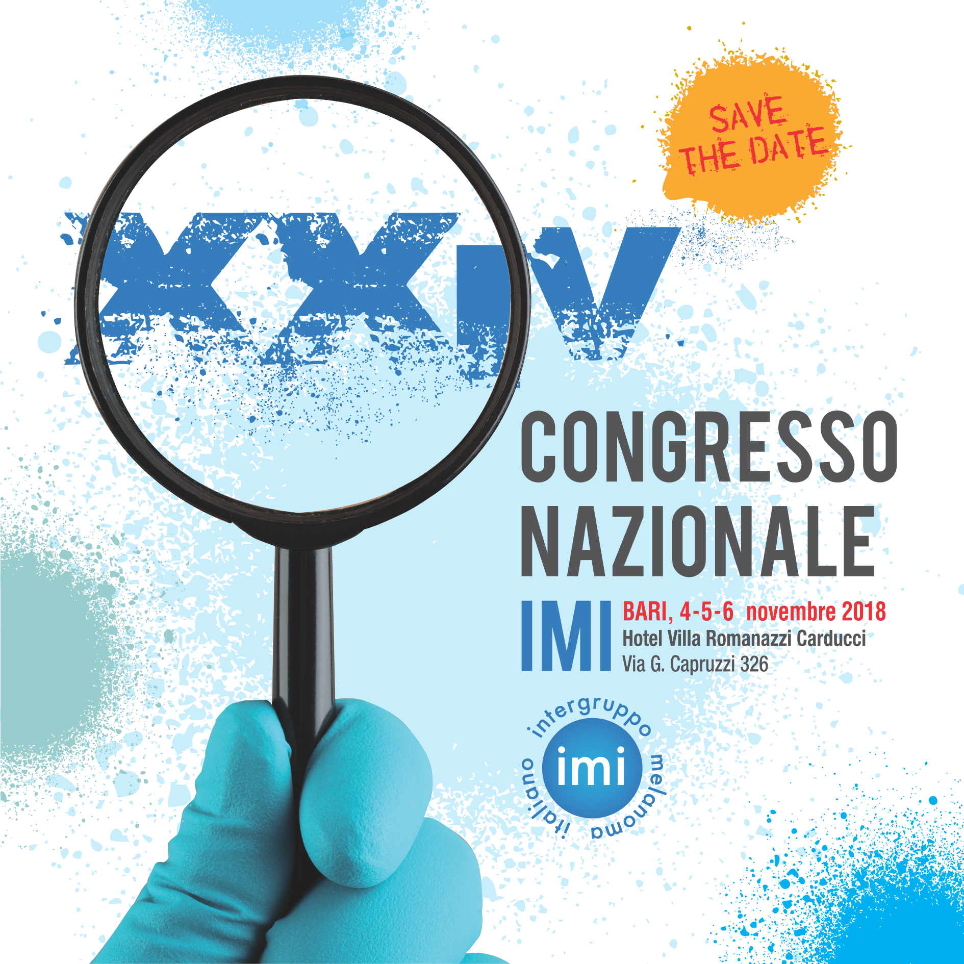 XXIV CONGRESSO NAZIONALE IMI Save The Date Page 1